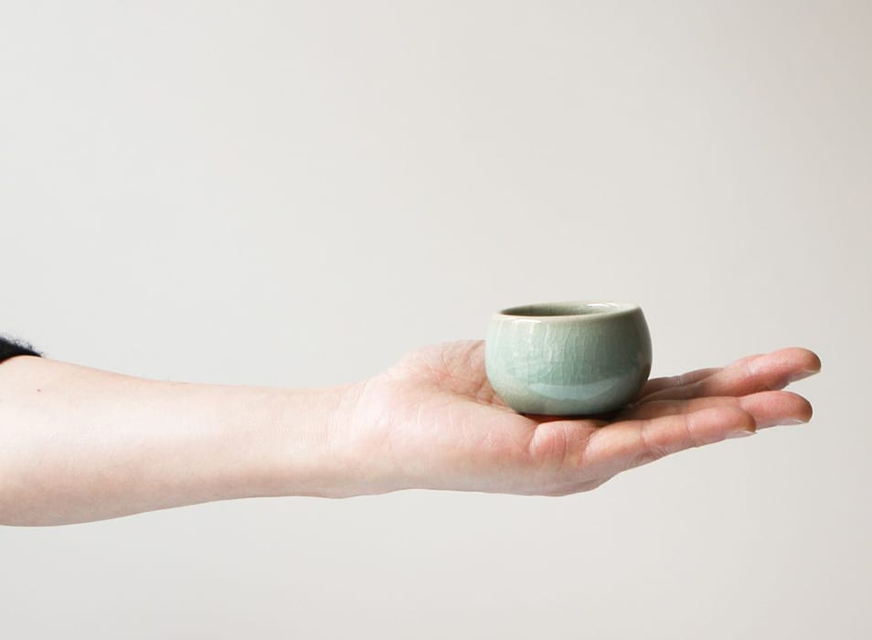 A Pair of Song Cups in Stoneware. | $52, songtea.com