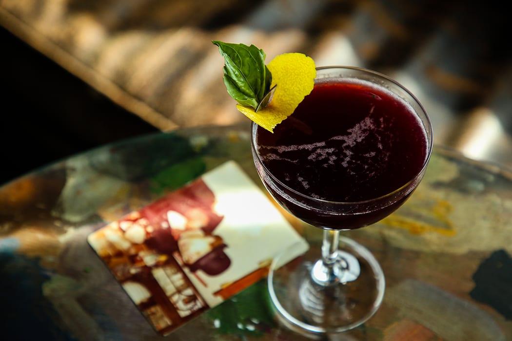 Lambrusco Cocktail
