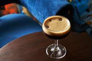 cold-brew martini