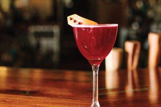 Hibiscus Mezcal Cocktail