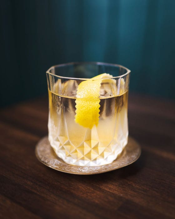 Made with with 1960's-era Cutty Sark Scotch Whisky and Drambuie circa the '50s, the