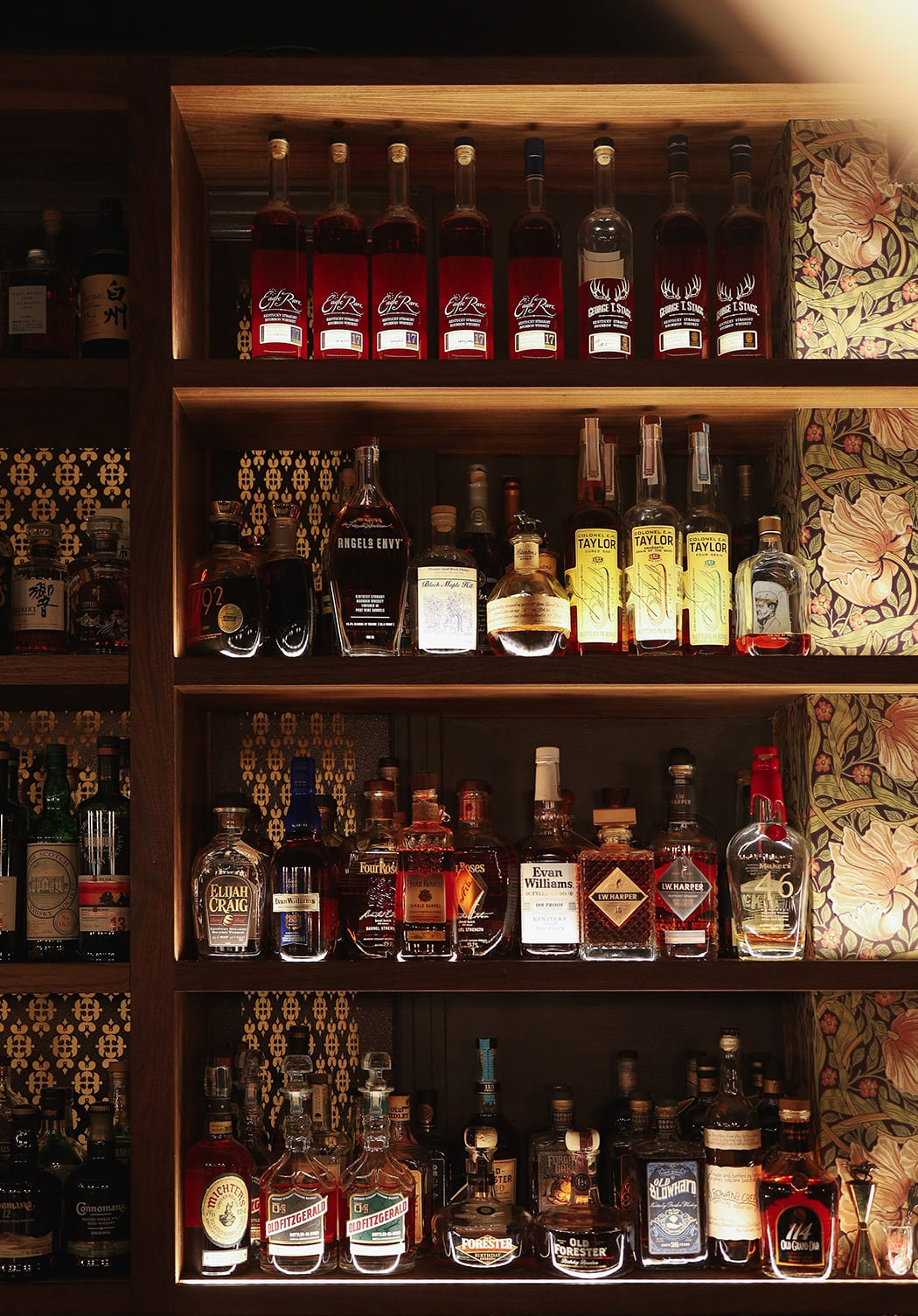 Beyond cocktails, the bar's a whisky selection is impressive in its breadth, especially given the space restraint
