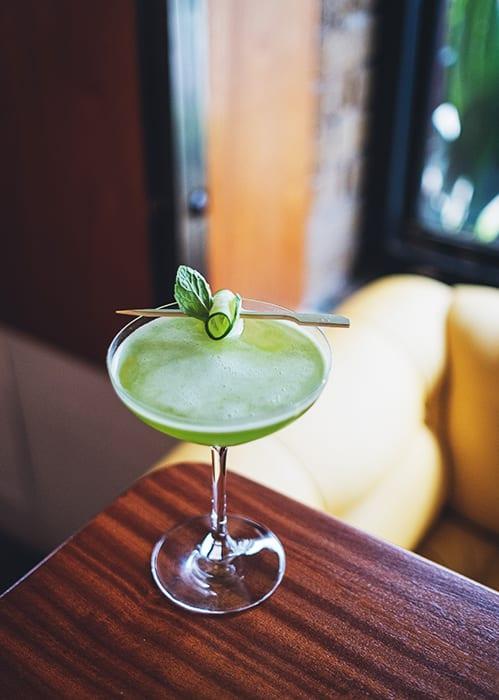 Cucumber Fresco Cocktail