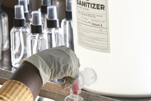 How Distilleries Are Navigating The Challenges of Making Hand Sanitizer