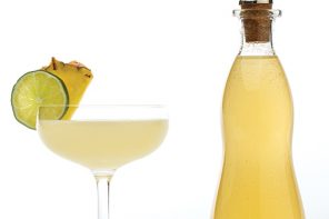 diy pineapple-coconut rum