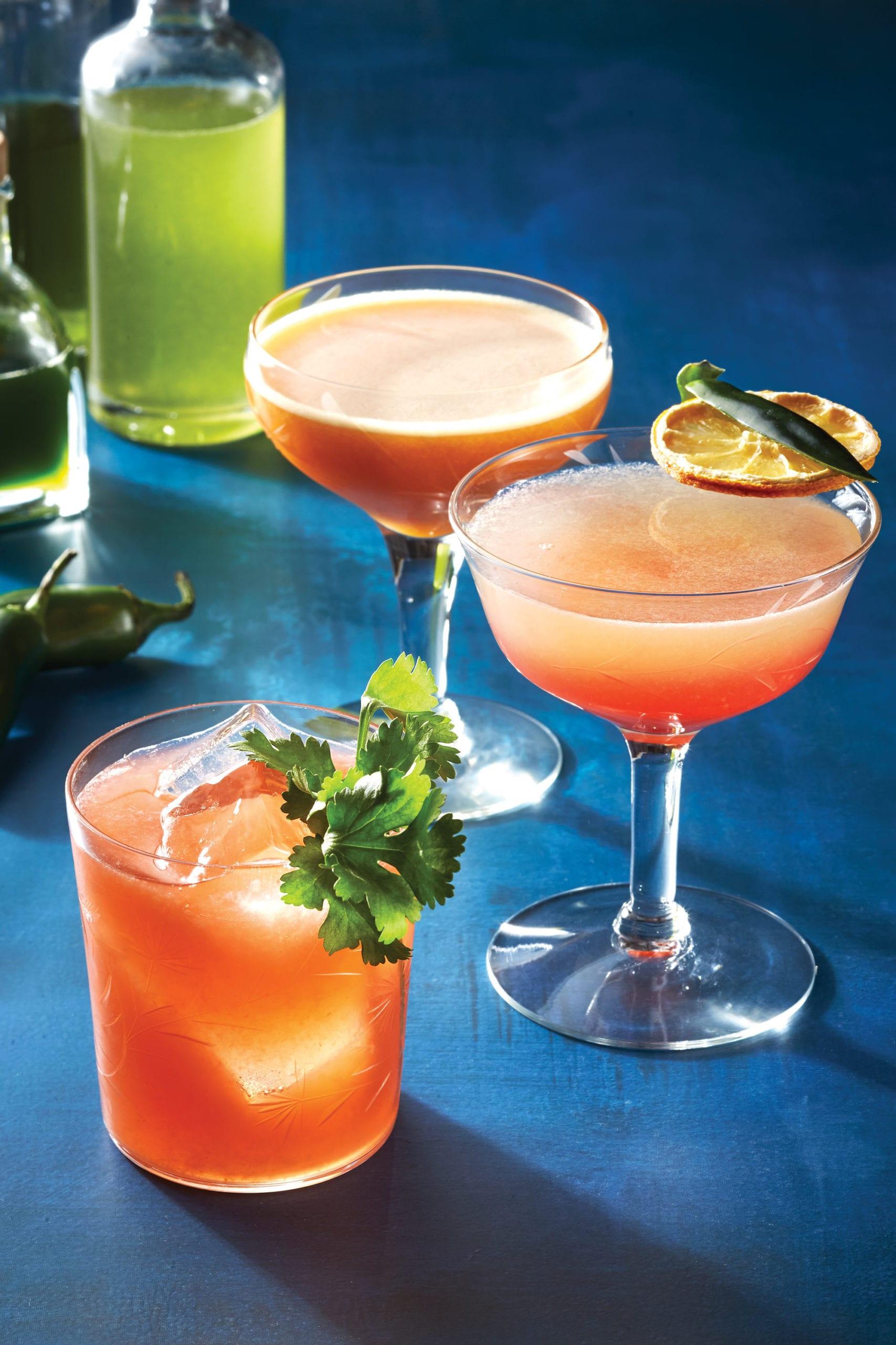 Jalapeño Cocktails